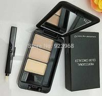 Professional Makeup eye Concealer palette 3 Colors concealer eye brand makeup urban face care (10 pcs/lots)10pcs Free Shipping