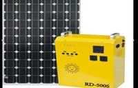 400W off grid portable solar system 1pc 100w solar panel 400w PURE sine wave solar inverter combined 12v 20a controller