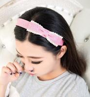 Girls Sweet chiffon Flower Headwear headband for baby girls hair decoration Lace Hair Band flower Baby headband Hairband