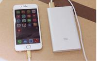 50pcs Ultra Sim xiaomi Power bank 5000mAh  Silver xiaomi portale battery 5000mah  For samsung s4 s5 note4