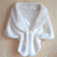 Winter Fashion Women's Faux Fur Collar Shawl Pashmina Scarf 2015 Warm Shawl Wrap Solid Stole Cape Bridal Wedding T22-46