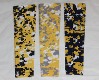 Yellow/black/white Digital camo sleeve SPORTS sleeve ARM SLEEVE DIGITAL CAMO DESIGN IN VARIOUS COLORS bike riding sleeve