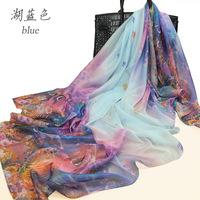 Bufandas From India 2015 New for Desigual Silk Scarf Winter Scarfs Digital Print Women Shawls And Scarves Bufanda Manta C313