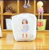 Pula Girl Purse Wallets Creative Zipper Storage Bag Coin Purses Children Kids Outdoors Bags Free Shipping(China (Mainland))