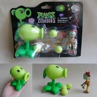 PVZ Plants VS Zombies Peashooter PVC Action Figure Toys Gifts