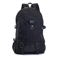 2015 New Fashion Men's Backpack Bag Canvas Fabric Travel School Backpacks Bags Coffee Black Green Color