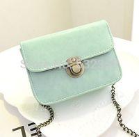 NB306 - Fashion Women's Handbag Small Color Block Transparent bag Jelly Bags