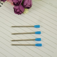 Mini Ballpoint pen Refill Small size 53mm Length Writing Lead 1.0mm for Ball Pen School Supplies Writing Accessories Wholesale