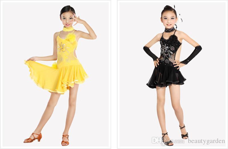 Compra la rumba traje de la danza online al por mayor de china