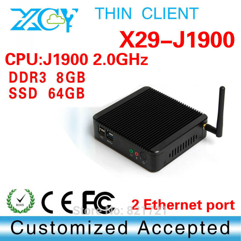 Low price good quality! XCY X-29 advertise computer Medical Panel PC 8g ram 64g ssd fanless box computer(China (Mainland))