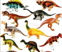 Hot !!12 styles large animal model dinosaur playsets 15-18 cm free shipping