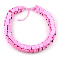 B N00115-1 2014 wholesale za item fashion necklaces & pendants chunky choker Necklace statement jewelry women