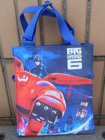 Portable Bag Big Hero 6 Bag Neoprene Lunch Bag Food Cooler Bags Thermal boys Handbag