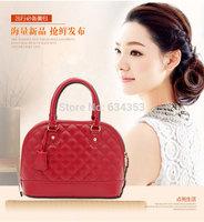 Fashion Korean style trend Quilted shell portable shoulder bag Messenger bag handbag women bag