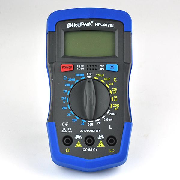 Мультиметр SUPERBATRF 4070L LCD LCR Mulimeter RCL TOOL078-4070L автомобильный телевизор rolsen rcl 1000z