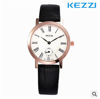 KEZZI Temperament is contracted fashion ms han edition belt ultra-thin women watch waterproof watch
