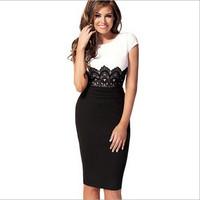 Sunnyfair 2015 Hot Sale New Fashion Designer Women Dress Casual Sexy Lady Hot Dresses Free Shipping