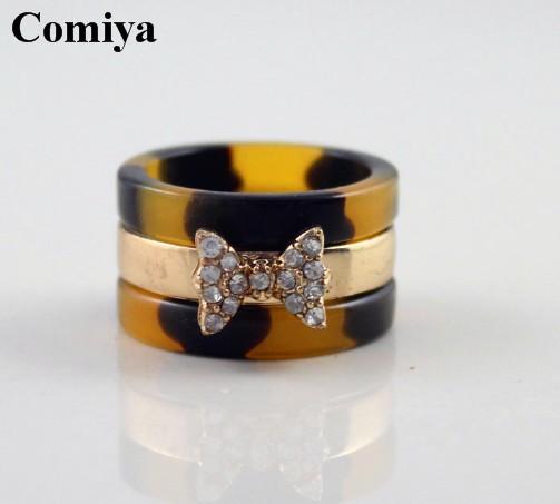 Bowknot Ring Fashion Lovely Bowknot Ring