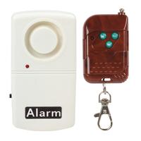 Window Alarm Glass Break Vibration Door Alarm with Wireless Home Security Remote Control
