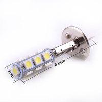 One Piece of Vehicle High Power H1 5050 13-SMD LED White 12V Light Bulbs Fog Lights 12V DC