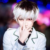 Anime Tokyo Ghoul Re sasaki haise Kaneki Ken Short Cosplay ANIME Vampire Wig Heat Resistant