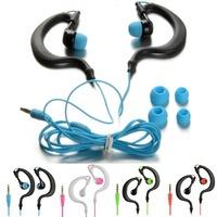New Waterproof Sport Stereo Earhook Headset Headphones for Apple iPhone 5 6 High Quality B0979 PBP