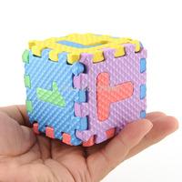 36 pcs/set Mini Interlocking EVA Foam Alphabet Letters Numbers Soft Play Mat Puzzle Jigsaw Kids