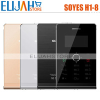Ultra thin mobile phone 1.3 inch 128*64 OLED Screen SOYES H1/H1-8 MP3 Bluetooth FM mini Card Phone
