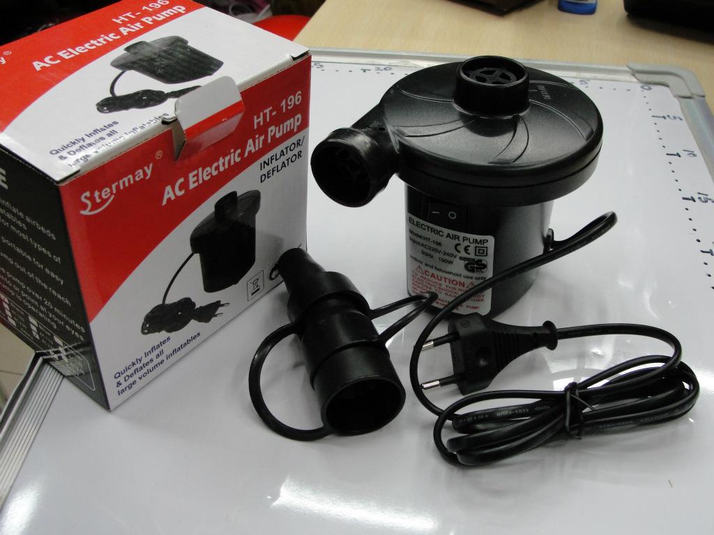 1 piece good quality 220V/120V inflatable pump electric air pump electric pump inflatable boat pump(China (Mainland))