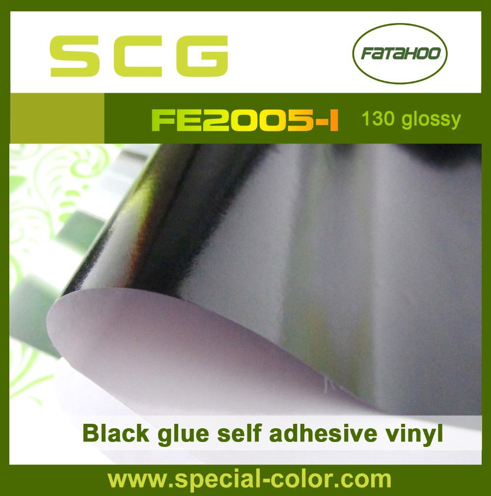 Wholesale 1.07*50m PVC Paper Film Self Adhesive Vinyl for vehicle advertisments on car, bus, taxi, train(China (Mainland))