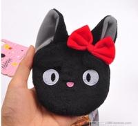 Wholesale 2015 Japanese Style Women Fashion Cute Cartoon Cat Coin Purses Kiki's Delivery Service Kiki's Coin Purses 2224