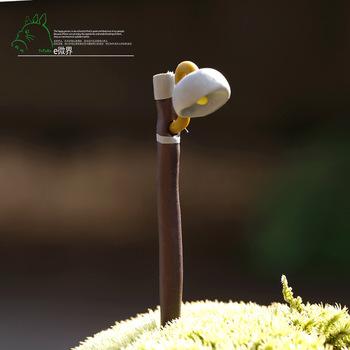 Продажа 1 шт. уличный фонарь 7 * 0.5 см мини лампы миниатюры волшебный сад гном мосс террариум домашнего декора ремесла бонсай домашнего декора для DIY