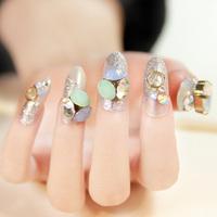 In love again silver false nails art decoration,woman false nails manicure art ornament display,4.20821.Free shipping