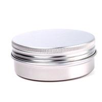 5pcs 80ml Aluminium Empty Nail Art Cream Cosmetic Lipstick Lip Gloss Lip Balm Containers Bottles #69244