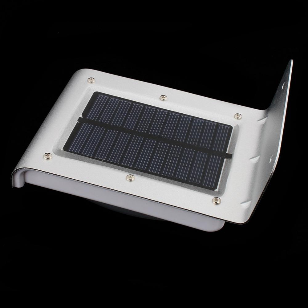 New 16 LED Solar Powered Outdoor Energency Lighting Human Sound Sensor Energy Saving Garden LED Wall Lamp SG Post Shipping(China (Mainland))