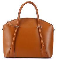 New simple leather handbags, fashion portable shoulder bag Napa, leather messenger bag