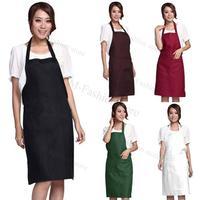12pcs Wholesale Party Product New 12pcs Apron With Pockets Restaurant Apron Cooking Apron Party Apron