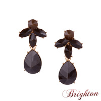 Vintage Jewelry 2015 New Arrival Fashion Women Accessories Gold Plated Brown Resins Charms Statement Drop Earrings Jewelry