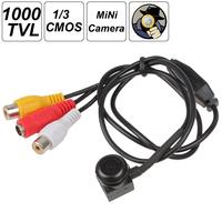 1000 TVL 1/3 Inch PC1099K CMOS Wide Angle Lens Mini CCTV HD Camera
