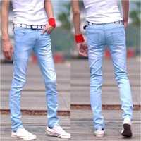 Size 27-34 Preppy Style Fashion Mens Slim Denim Pants Casual Pantalones Vaqueros Hombre Calca Masculina Men Skinny Jeans