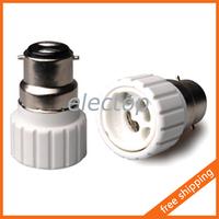 B22 to GU10 Lamp Holder Adapter Base Socket Converter for Light Bulb 5pcs/lot Wholesale