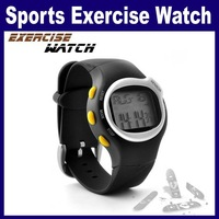 3 pcs/Lot _ Pulse Heart Rate Monitor Calories Counter Fitness Wrist Watch