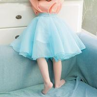 2015 spring new arrival girls fashion tutu veil skirt kids candy color skirts 1158