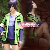 Free shipping  Bob Style Toka Kirishima Touka Cosplay Wigs Tokyo Ghoul Cheap Purple Synthetic Hair cosplay Anime Wig