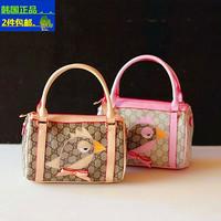 Free Shipping New 2015 HOT SALES children girls brand hand bag women mini purse kids fashion shoulder bird bag kids gift