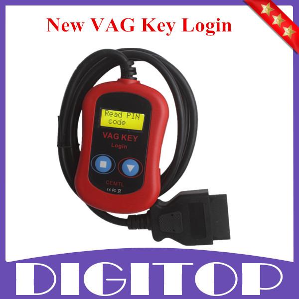 2015 New for VAG Key Login for VAG Pin Code Reader Auto Key Programmer for VAG Group Free Shipping(China (Mainland))