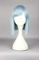 New design  YURI KUMA ARASHI Life Cool  34cm long blue sky anime cosplay fashion wig