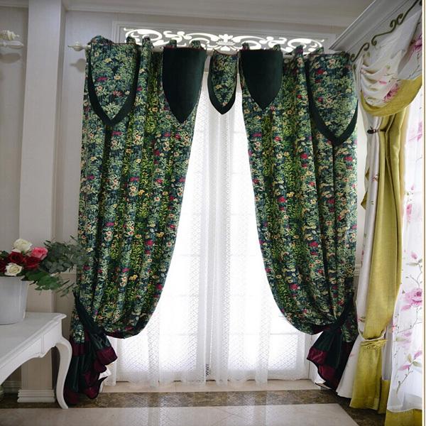 Zhejiang Alibaba Supplier Fancy Design Pattern Curtains Wholesale(China (Mainland))
