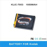 Rechargeable Camera Battery KLIC-7003 For Kodak Digital Camera 1050mAh