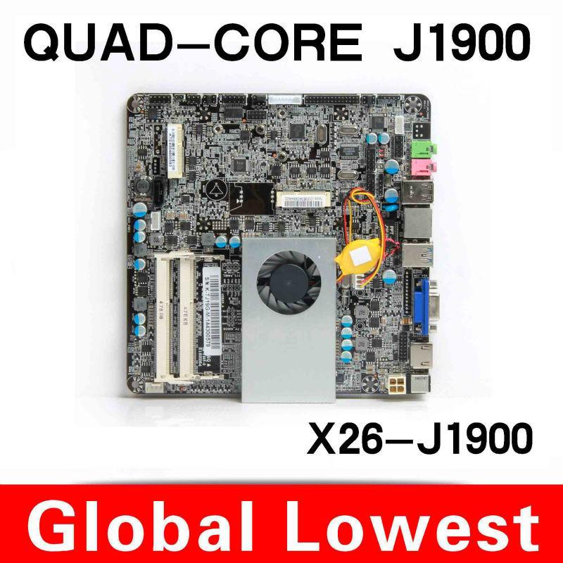 Factory price Industrial Motherboard celeron J1900 integrated machine POS mainboard Desktop Board(China (Mainland))